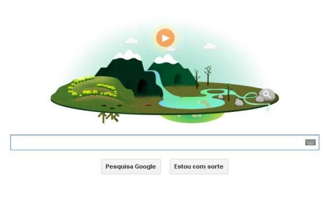 Doodle do Dia da Terra possui animação que mostra diversas regiões do planeta