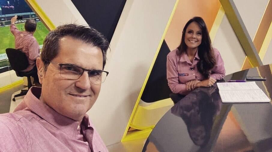 Fabiola Andrade disse que quer ver Messi conquistando seu primeiro título com a seleção