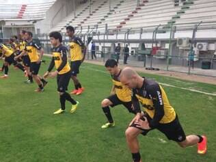 Atlético realizou nesta terça o último treinamento antes do jogo contra o Flamengo.