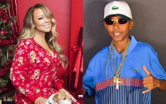 Mariah Carey e MC Teteu