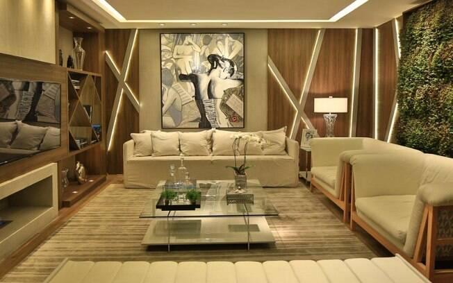 Sala De Estar Ou Living ~ Tenha um bom projeto de iluminação para valorizar a decoração e
