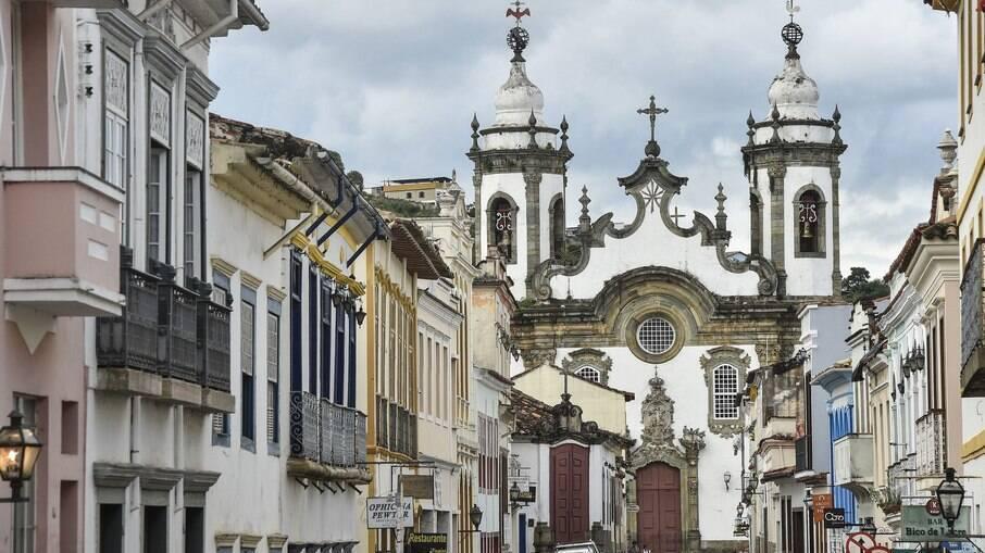 São João del Rei possui um belo centro histórico