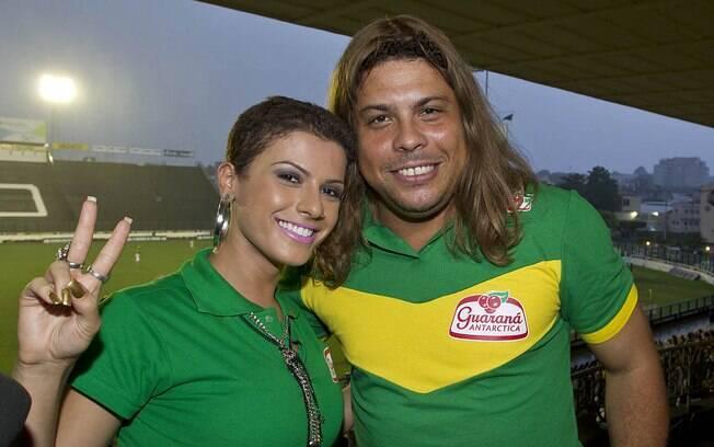 Ronaldo usou peruca da panicat Babi