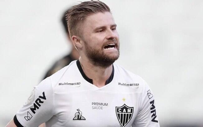 Sasha marcou um dos gols do Atlético-MG contra o  Ceará