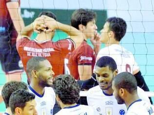 Liderança. Sada Cruzeiro venceu a UFJF por 3 sets a 1 e segue como líder do Campeonato Mineiro
