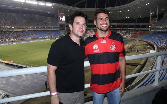 Murilo Benício e Cauã Reymond