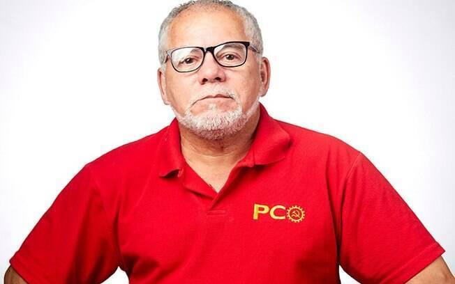 Antonio Carlos Silva, candidato à Prefeitura de São Paulo pelo PCO
