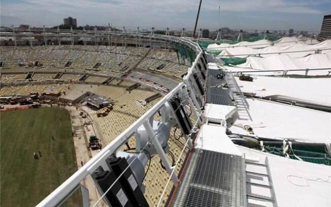 O Maracanã tem 92% de suas obras concluídas