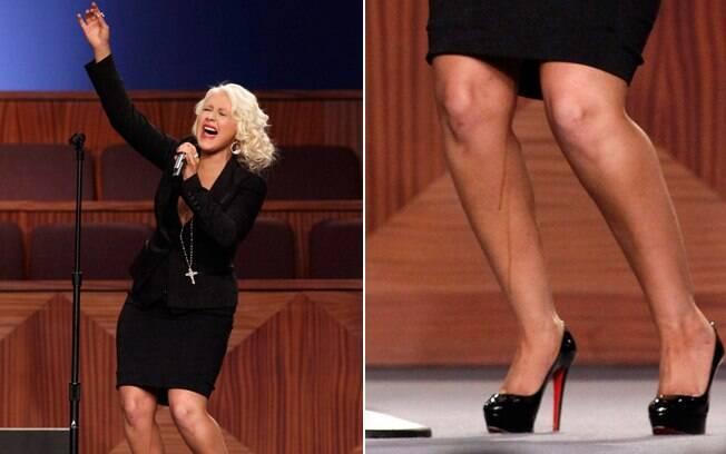 Christina Aguilera cantou um dos maiores sucesso de Etta James, a música