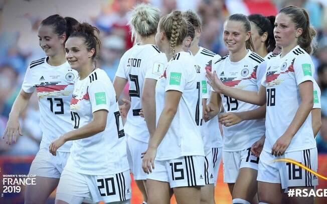 Alemanha goleia enquanto França e Espanha empatam: o resumo do dia da Copa do Mundo Feminina.