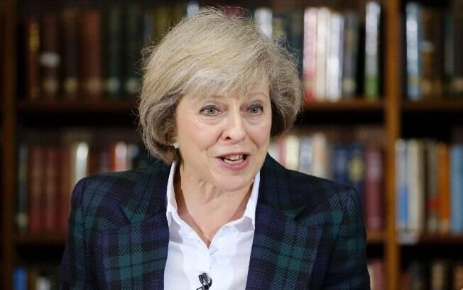 Theresa May apoiou Cameron na campanha pela permanência do Reino Unido na União Europeia