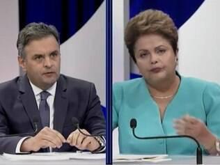 Dilma e Aécio acusaram o rival de mentir oito vezes cada