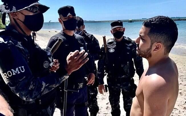 Deputado estadual do Ceará descumpre decreto de isolamento social em Pernambuco e é levado para delegacia