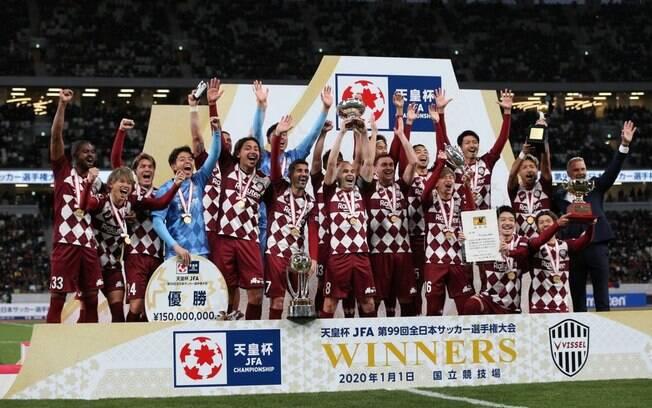 Vissel Kobe levou a Copa do Imperador do Japão e é o primeiro campeão de 2020