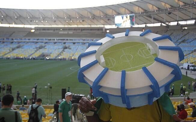 Evento-teste no Maracanã não teve ingressos  vendidos ao público