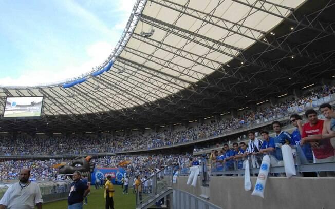 Cruzeiro x Atlético-MG fizeram o jogo de  reabertura do Mineirão, no dia 3/2