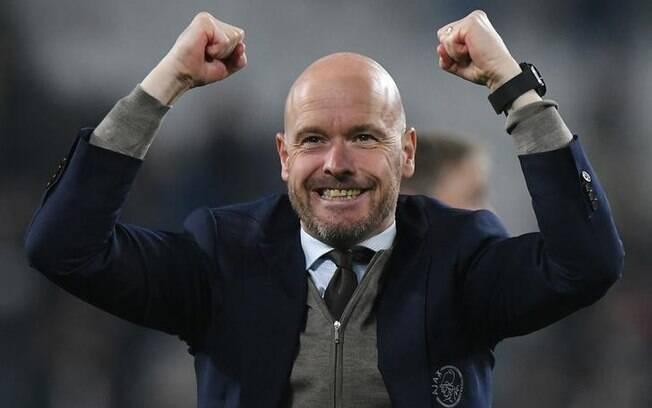 Erik ten Hag levou o Ajax a semifinal da Liga dos Campeões dessa temporada