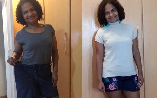 Após perder peso e eliminar 40 kg, Elane conta que está inspirando outras pessoas que também precisam emagrecer