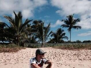 Jogador aproveitou descanso antes de viagem para o Rio de Janeiro, onde a Alemanha enfrentará a França