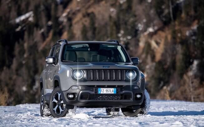 Jeep Renegade 4xe: modelo híbrido terá força suficiente para atingir 100 km/h em 7 segundos