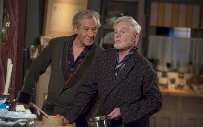 Ao lado de Derek Jacobi, Ian McKellen protagoniza  a série inglesa