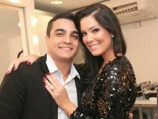 Débora Lyra e o namorado, Hermon Lopes
