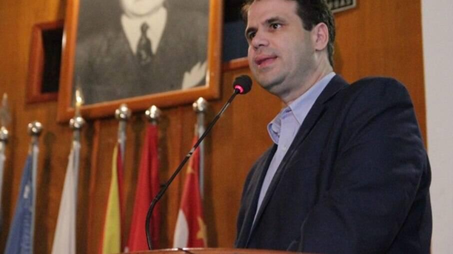 Áureo Ribeiro criador do Projeto de Lei