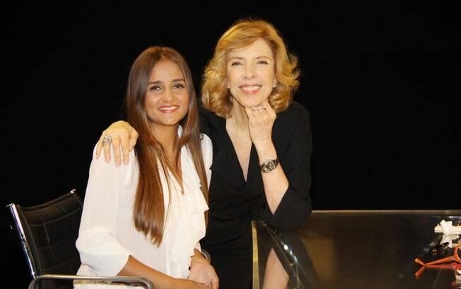 Catarina Migliorini em entrevista a Marília Gabriela
