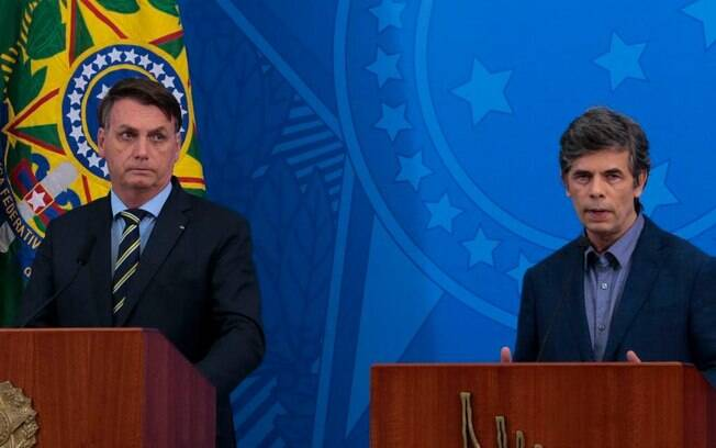 O racha entre Bolsonaro e Teich ganhou a mídia estrageira