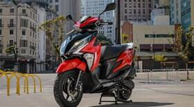Honda lança scooter Elite 125 da linha 2022 com novos detalhes