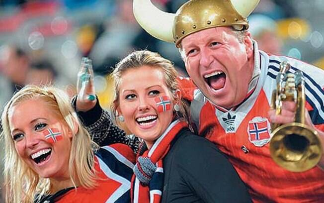 Depois de ter ficado na quarta posição nos últimos anos%2C a Noruega passou a Dinamarca no ranking de felicidade