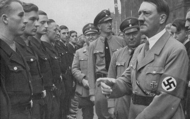 O ditador Adolf Hitler: teve apoio dos alemães e conquistou quase toda a Europa em 6 anos