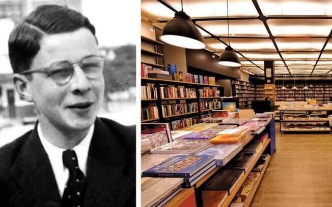 Livraria Da Vinci, no Rio de Janeiro: obra de uma refugiada romena que virou referência de livros estrangeiros. À esquerda, o alemão Hans Stern, criador de joalheria
