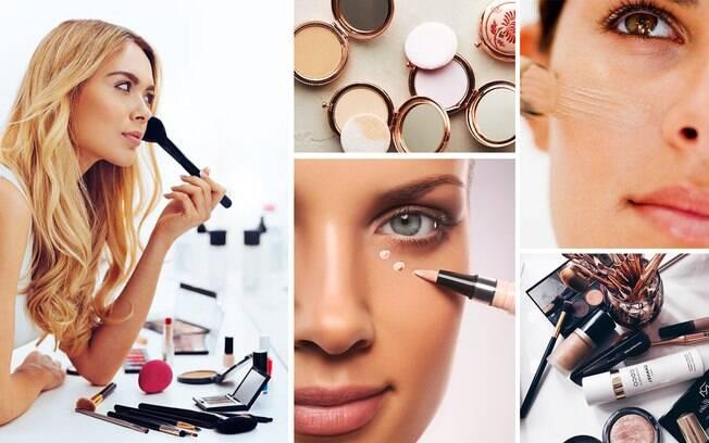 Ao elaborar sua maquiagem de verão opte por produtos de longa duração e livres de óleo.