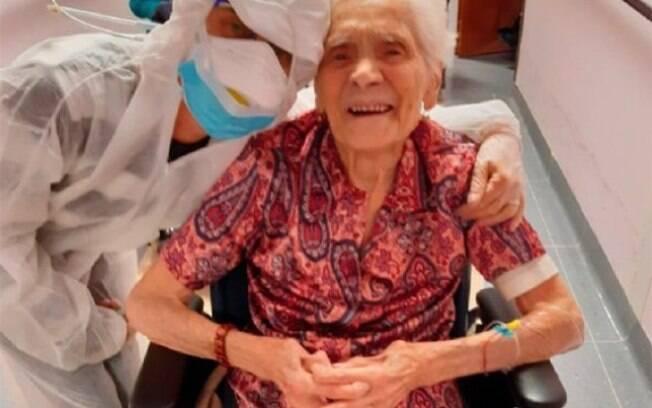 Ada Zanussa já tinha sobrevivido a gripe espanhola