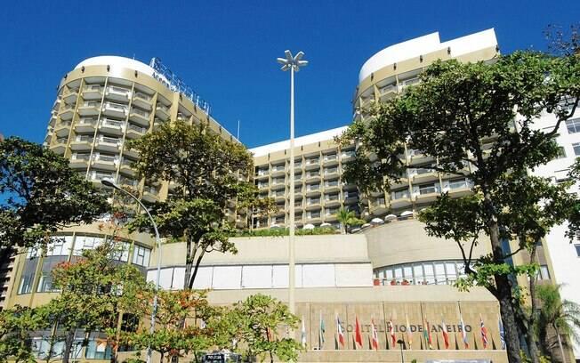 Fachada do Hotel Sofitel, localizado na Praia de Copacabana