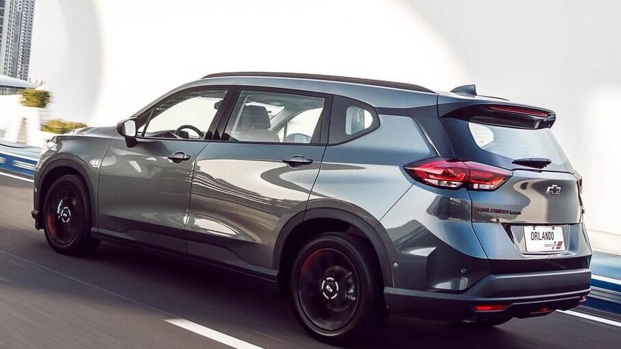 Chevrolet Orlando deverá servir de base para a nova geração da Spin, um das novidades da GM até 2024