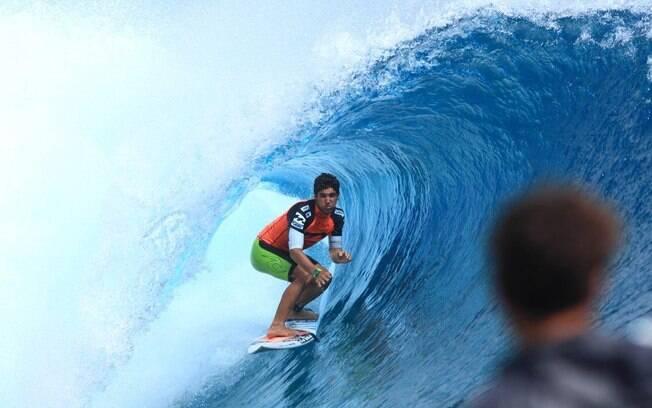 Gabriel Medina admite que Teahupoo é uma de suas ondas preferidas