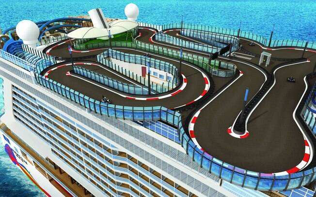 São muitas as atrações que os cruzeiros Norwegian Cruise Line oferecem para trazer mais entreter os viajantes
