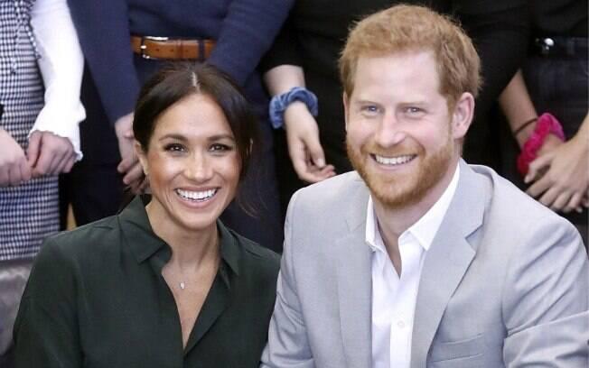 Megahn Markle e príncipe Harry estão a espera do novo bebê Real e isso fez o casal mudar com a imprensa