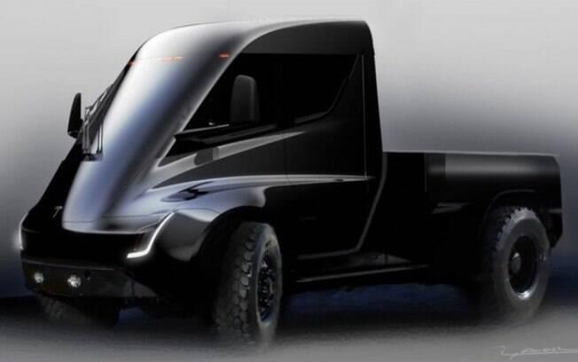 Futurística, exagerada, mas muitos apostam que o Tesla terá uma aparência mais tradicional no lançamento em 2020