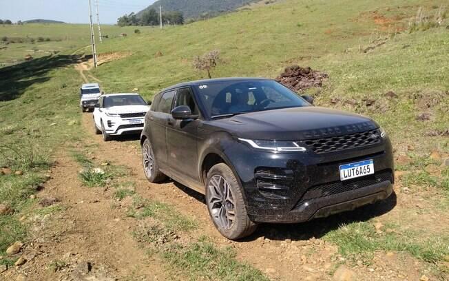 O novo Range Rover Evoque traz fortes inspirações no irmão de grande porte, o Velar