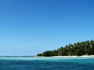 As ilhas de Cayos Zapatilha tem praias isoladas e são cobertas por uma densa vegetação