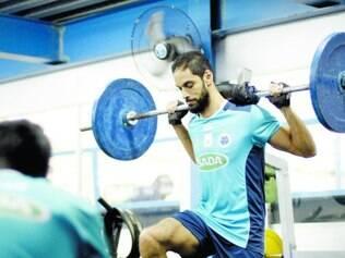Preparado.   Já garantido como o primeiro colocado, jogadores do Sada Cruzeiro já pensam nos play-offs