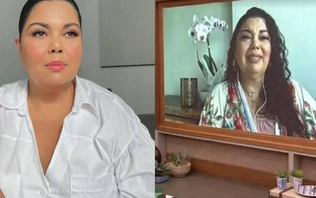 """Fabiana Karla sofre com morte de Paulo Gustavo e se emociona em homenagem: """"Tinha de ir desse jeito"""""""