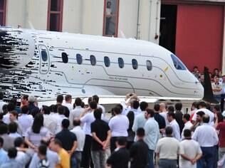 Fotos: Legacy 500 da Embraer realiza primeiro voo