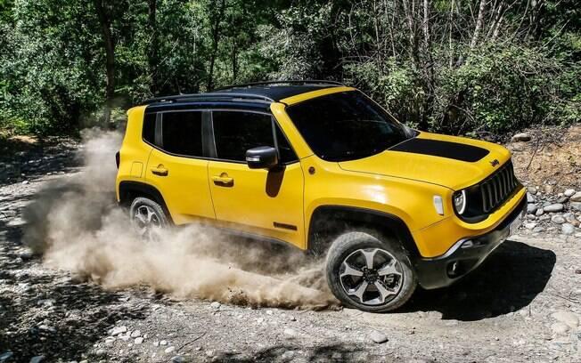 Entre os SUVs do Salão do Automóvel, o Renegade poderá estar na sua garagem em breve
