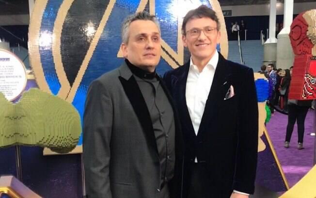 Irmãos Russo na première de Vingadores: Ultimato