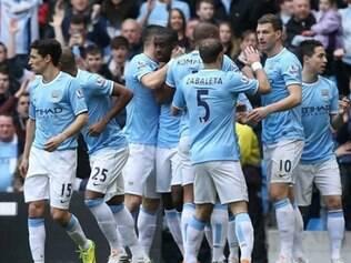 Manchester City contou com os gols de Yaya Touré, Samir Nasri, Edin Dzeko e Stevan Jovetic