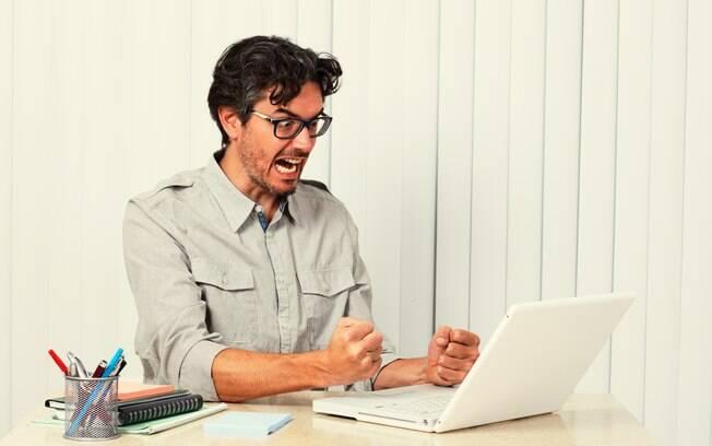 Evite a treta na internet para não se estressar